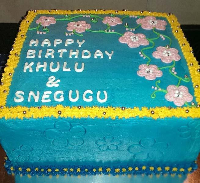 25cm Birthday Cake